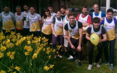 Miles of fun at our pre-Marathon Fundraising Day